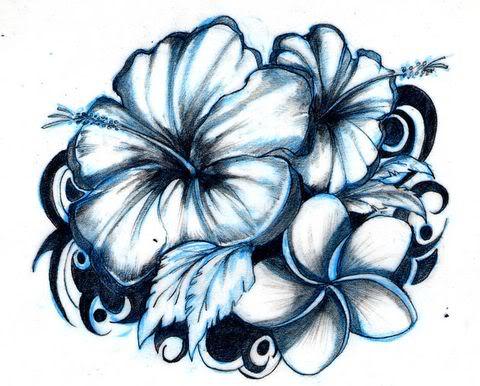 Tatuaggi Floreali Fiori Foto Di Disegni Con Hawaii Dermatology